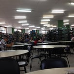 Photo taken at Biblioteca PUC Minas by Leela V. on 11/20/2012