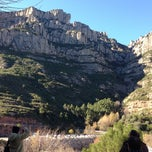 Photo taken at Monistrol de Montserrat by Milda B. on 12/8/2012