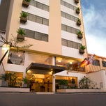 Photo taken at Hotel Mariel by alvaro f. on 11/21/2012