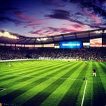 Photo taken at Sporting Park by Bryan S. on 9/15/2012
