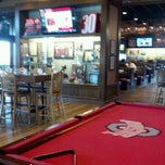 Photo taken at Buckeye Hall of Fame Grill by Jeff L. on 1/31/2012