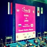 Photo taken at FedCup 2012 Кубок Федерации  Россия-Испания by Irina K. on 2/9/2013