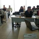 Photo taken at Tecnológico de Monterrey Sede Cancún by Ulises R. on 3/2/2013