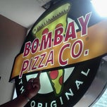 Photo taken at Bombay Pizza Co. by Farina A. on 1/29/2013