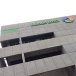 Photo taken at Banco BHD León by OSCAR BONE on 2/17/2014