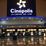 Photo taken at Cinépolis by Antonio T. on 3/16/2013