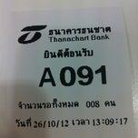 Photo taken at ธนาคารธนชาต (Thanachart Bank) by MoONoI E. on 10/26/2012