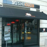 Photo taken at Sushi Club by Mario S. on 3/7/2013