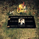 Photo taken at Howard Lincoln High Grave Site by Говард Г. on 10/15/2013