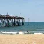 Photo taken at Avon Fishing Pier by Trish H. on 5/27/2013