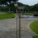 Photo taken at Magic Island Water Fountain by Harry C. on 12/2/2012