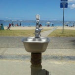 Photo taken at Magic Island Water Fountain by Harry C. on 7/8/2013