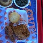Photo taken at Popeye's Louisiana Kitchen by Daniel T. on 12/18/2012
