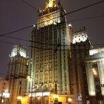 Photo taken at Смоленская-Сенная площадь by Алексей З. on 3/14/2013