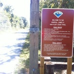 Photo taken at General James A. Van Fleet State Trail by Zachary W. on 11/3/2013