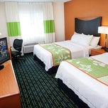 Photo taken at Fairfield Inn & Suites Dallas Mesquite by MDS on 2/7/2014
