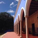 Photo taken at Hacienda Santa Rosa by Cristina S. on 11/1/2013