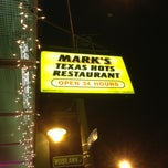 Photo taken at Mark's Texas Hots by Grant W. on 3/17/2013
