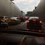 Photo taken at Jalan Tun Razak Tunnel by NAQSZADA on 9/3/2014