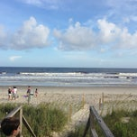 Photo taken at Holden Beach by Scott W. on 7/14/2013