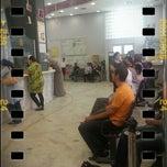 Photo taken at La Poste Tunisienne - Agence Thameur by Wajj on 8/2/2013
