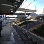 Photo taken at MetroLink - Civic Center Station by Devin C. on 1/12/2013