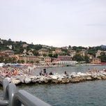 Photo taken at Lungomare di Santa Margherita Ligure by Dogay B. on 6/8/2013