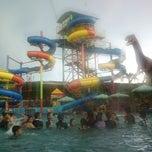 Photo taken at Suncity Waterpark by Otek09 on 1/17/2013
