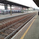 Photo taken at Stazione Portichetto Luisago by carlo g. on 1/15/2013