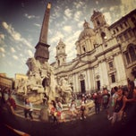 Photo taken at Piazza Navona by Casandra R. on 6/25/2013