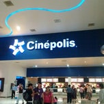 Photo taken at Cinépolis by Guadalupe C. on 1/6/2013