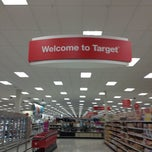 Photo taken at Target by Dusty D. on 1/25/2013