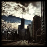 Photo taken at Lake Shore Drive by Aaron K. on 1/5/2013