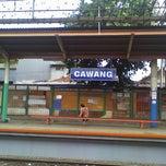 Photo taken at Stasiun Cawang by BuBu S. on 12/22/2012