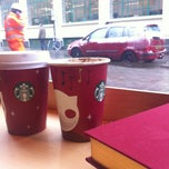 Photo taken at Starbucks by Ilze K. on 1/18/2013