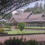 Photo taken at Pendopo Kabupaten Purwakarta by Risang A. on 4/13/2014