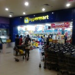 Photo taken at hypermart by Ran N. on 1/21/2013