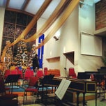 Photo taken at Trinity Lutheran Church by Aaron C. on 12/22/2012