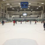 Photo taken at Ice Centre at the Promenade by Rodrigo Z on 2/23/2013