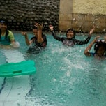 Photo taken at Kolam renang Safa by Ayu D. on 4/18/2013