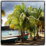 Photo taken at Grande Anse d'Arlet by Sandrine D. on 3/27/2013