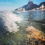 Photo taken at Praia de Ipanema by Jessica M. on 7/6/2013