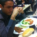 Photo taken at Comedor by Peter Pol on 1/24/2012