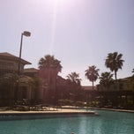 Photo taken at Verandahs Pool by Charlie M. on 3/8/2013