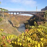Photo taken at Lower Falls Park by Eric D. on 10/21/2012
