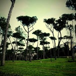 Photo taken at Villa Borghese (ingresso Propilei delle Aquile) by Jason L. on 2/20/2013