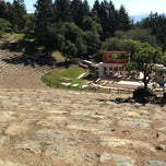 Photo taken at Mt. Tamalpais Amphitheater by Tobias K. on 4/20/2013