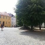 Photo taken at Žerotínovo náměstí by Jan M. on 7/7/2013