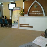 Photo taken at Universitas Islam Sultan Agung (Unissula) by Dea L. on 2/22/2013