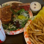 Photo taken at CJs Comfort Zone Maui Deli & Diner Maui Restaurant by Dayni P. on 4/13/2013
